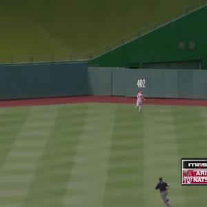 Escobar's leadoff shot