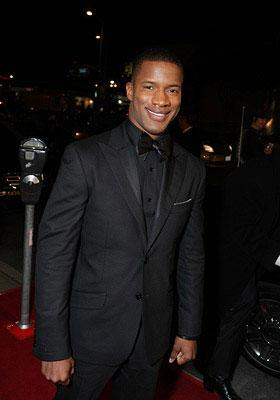 Nate Parker at the Los Angeles premiere of Weinstein Companys' The Great Debaters