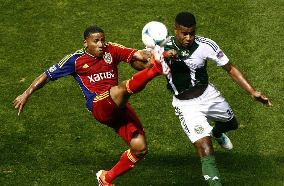 Plata has goal, 2 assists as RSL beats Timbers 4-2