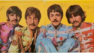 Signed Copy of Beatles' 'Sgt. Pepper's' Auctions for $290,500