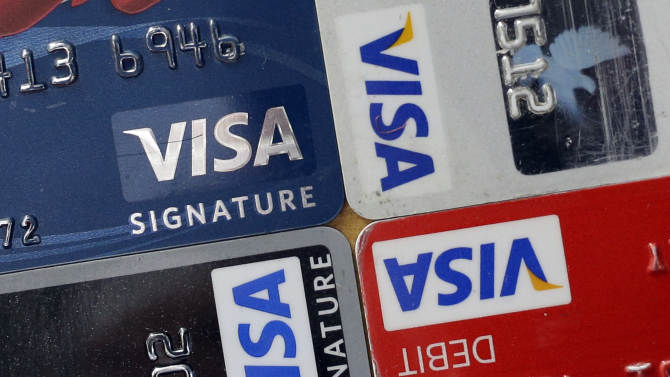 Visa card use up but 2Q profit slips nearly 2 pct