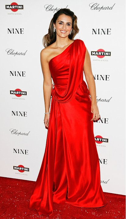 Nine NY Screening 2009 Penelope Cruz