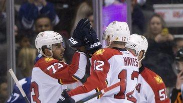 Panthers topple reeling Leafs 4-1