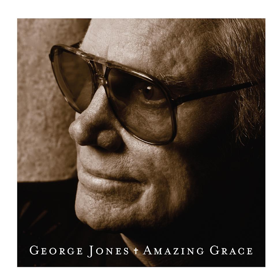 "This CD cover image released by Welk Records shows ""Amazing Grace,"" by George Jones. (AP Photo/Welk Records)"