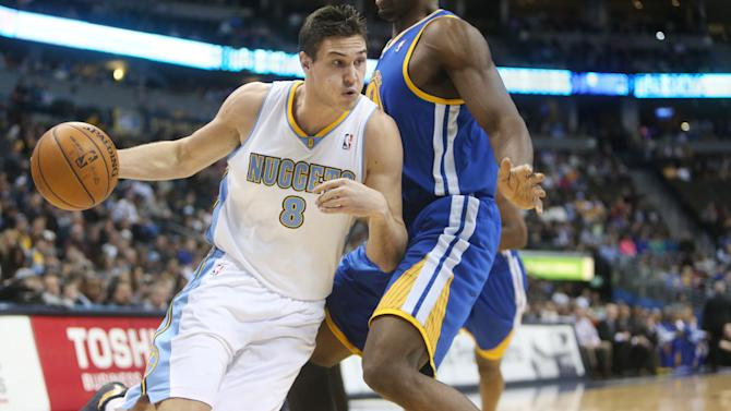 NBA: Golden State Warriors at Denver Nuggets