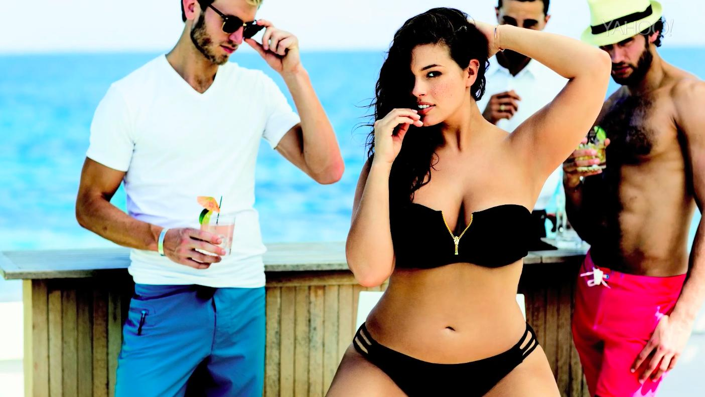 "Model Ashley Graham and the ""curvy"" girl revolution"