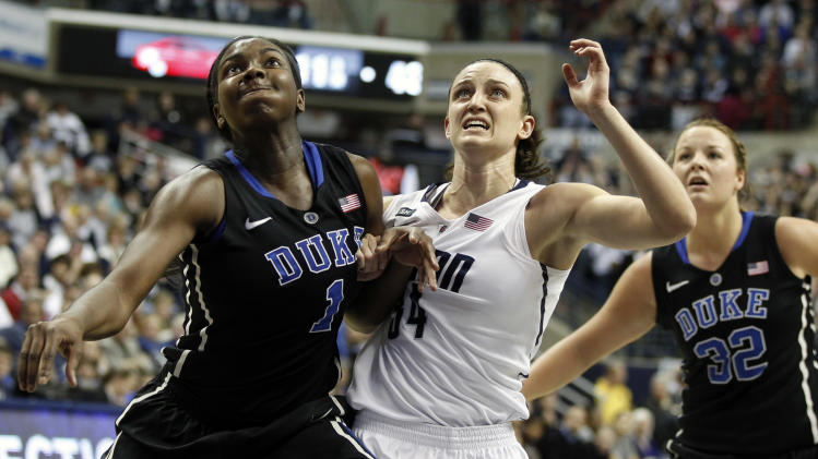 NCAA Womens Basketball: Duke at Connecticut