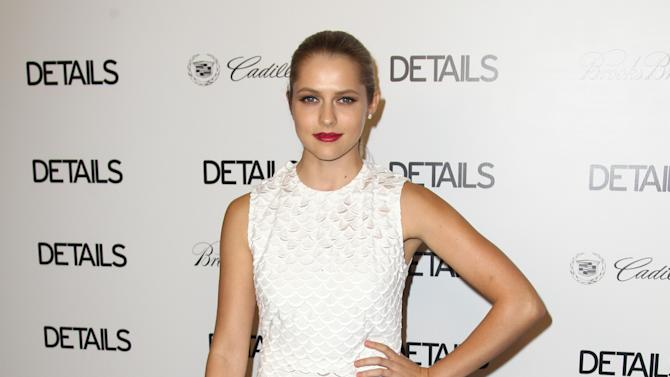 IMAGE DISTRIBUTED FOR DETAILS MAGAZINE - Teresa Palmer attends DETAILS Hollywood Mavericks Party on Thursday, Nov. 29, 2012 in Los Angeles. (Photo by Matt Sayles/Invision for Details Magazine/AP Images)