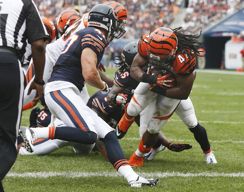 Bengals showcase more diverse running game
