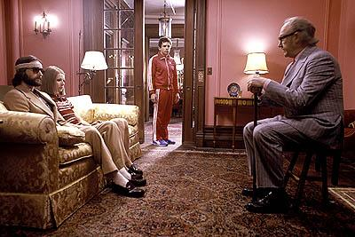 Luke Wilson , Gwyneth Paltrow , Ben Stiller and Gene Hackman in Touchstone's The Royal Tenenbaums