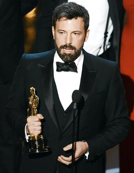 "Ben Affleck Wins Best Picture Oscar for Argo, Thanks Wife Jennifer Garner: Marriage Is ""Work, But It's the Best Work There Is"""