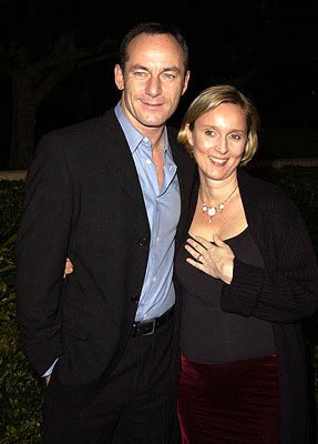 Premiere: Jason Isaacs and Emma Hewitt at the Beverly Hills premiere of Columbia's Black Hawk Down - 12/18/2001