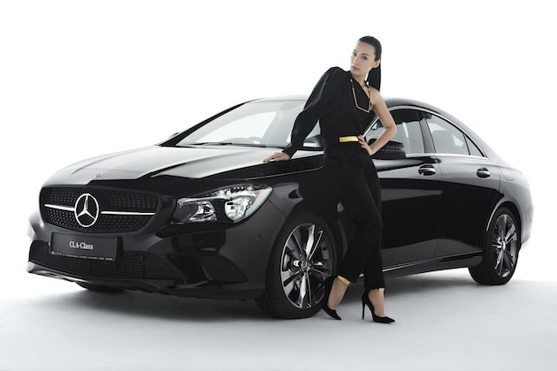 Mediacorp artiste Rebecca Lim is now a Mercedes brand ambassador. Nice work if you can get it.