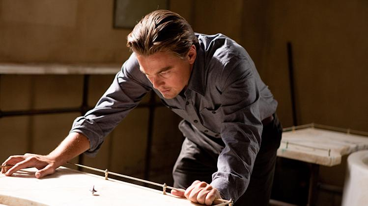 Inception Warner Bros. Pictures 2010 Production Photos Leonardo DiCaprio