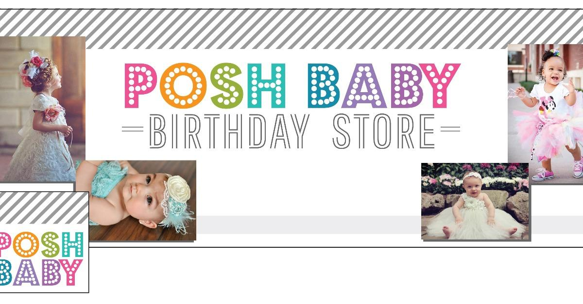 Get Your  Babies 1st First Birthday Outfit Here.