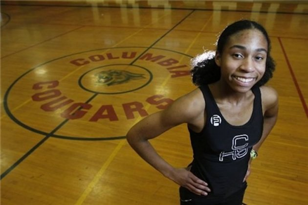 Columbia sprinter Olivia Baker won two national titles and nearly set a new record in a single meet — SOMSD.K12.NJ.US
