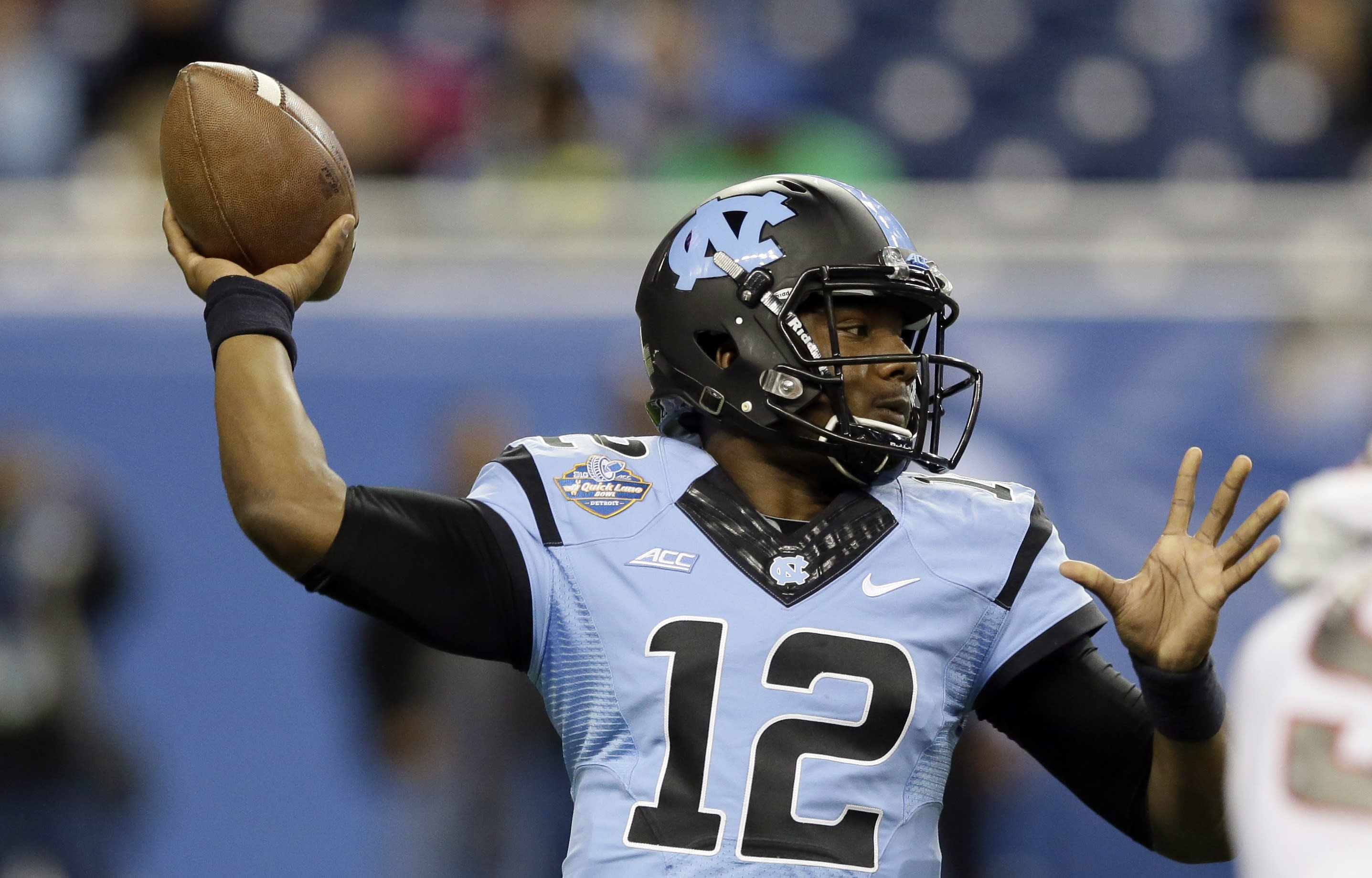UNC QB Marquise Williams to miss spring practices with hip injury
