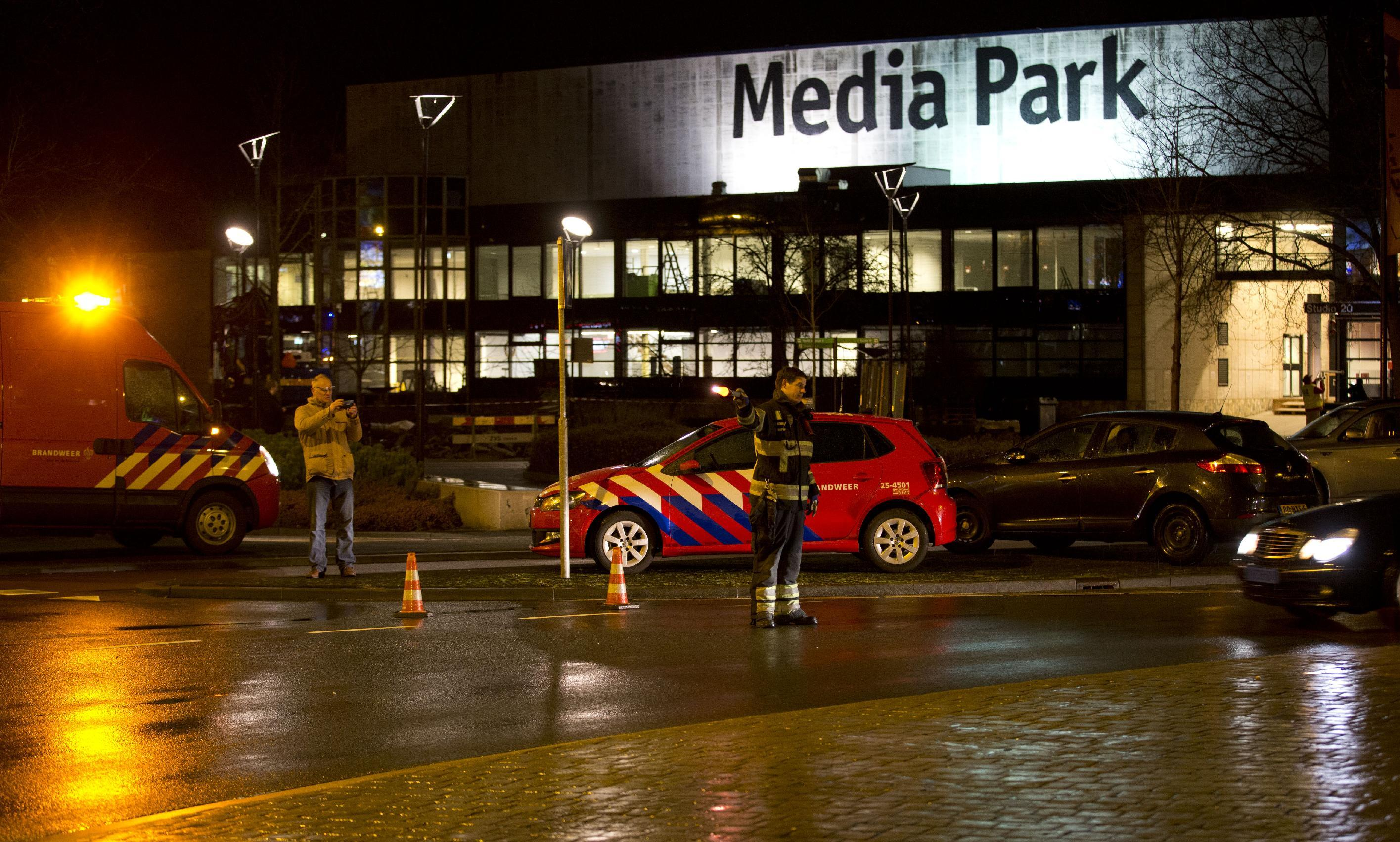 Man wielding pistol arrested at Dutch national broadcaster
