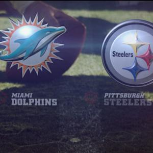 GameDay: Miami Dolphins vs. Pittsburgh Steelers highlights