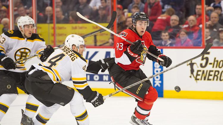 NHL: Boston Bruins at Ottawa Senators