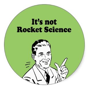 Its Not Rocket Science image its not rocket science sticker p217626321983365495tr4z 400