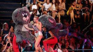 Miley Cyrus Performs Surreal, Teddy Bear-Filled Version of 'We Can't Stop'