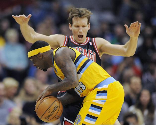 Nuggets pull away in fourth quarter to beat Bulls