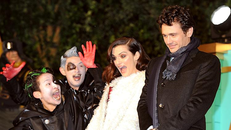Rachel Weisz, James Franco