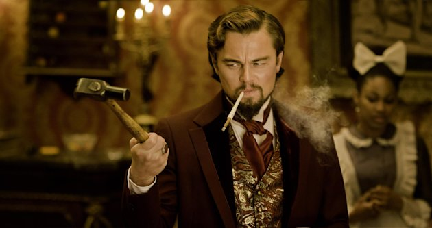 "FILE - This undated publicity image released by The Weinstein Company shows Leonardo DiCaprio as Calvin Candle in ""Django Unchained,"" directed by Quentin Tarantino. (AP Photo/The Weinstein Company, Andrew Cooper, SMPSP, File)"