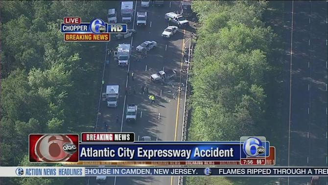 Atlantic City Expressway reopens after fatal crash