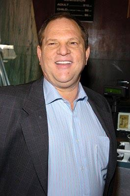 Harvey Weinstein at the New York premiere of Miramax's Ella Enchanted