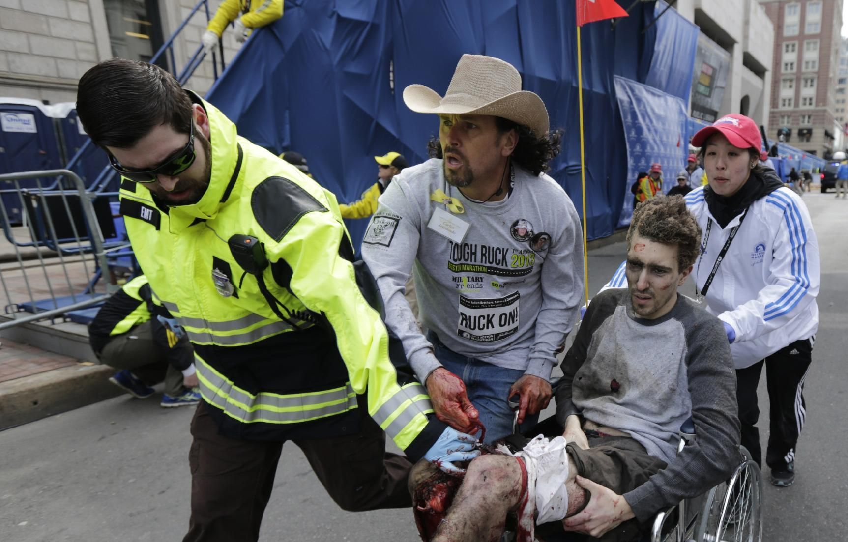 Boston Marathon bombing survivors brace for movies on attack