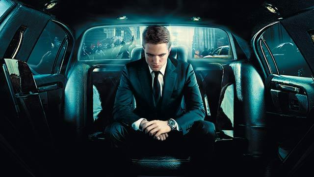Crawling All Over Pattinson's Face in 'Cosmopolis'