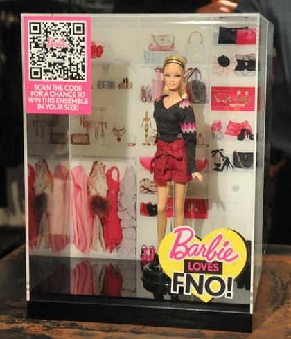 """Barbie Loves FNO"" Loomstate doll"