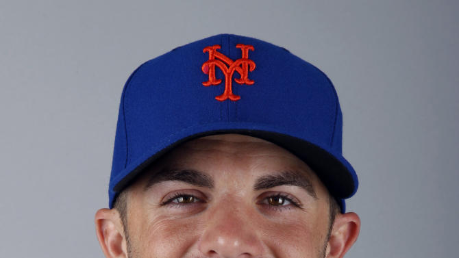 FILE - This is a 2012 file photo of David Wright of the New York Mets baseball team. WFAN radio is reporting Friday, Nov. 30, 2012, that Wright and the New York Mets have agreed to a $138 million, eight-year contract that would be the richest in franchise history. (AP Photo/Jeff Roberson, File)