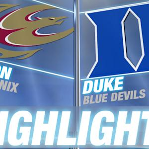 Elon vs Duke | 2014-15 Men's Basketball Highlights