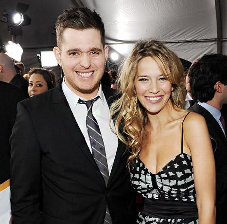 "Michael Buble's Pregnant Wife Luisana Lopilato Is ""Killing"" Him With Baby Name Ideas"