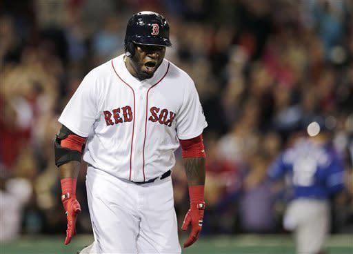 Ortiz hits 3-run HR in 9th, Boston beats Texas 6-3