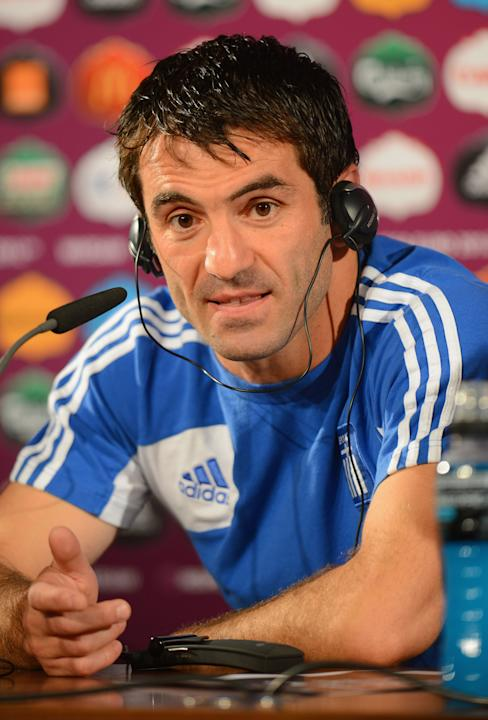 Post-Match Press Conferences - Greece v Russia, Group A: UEFA EURO 2012