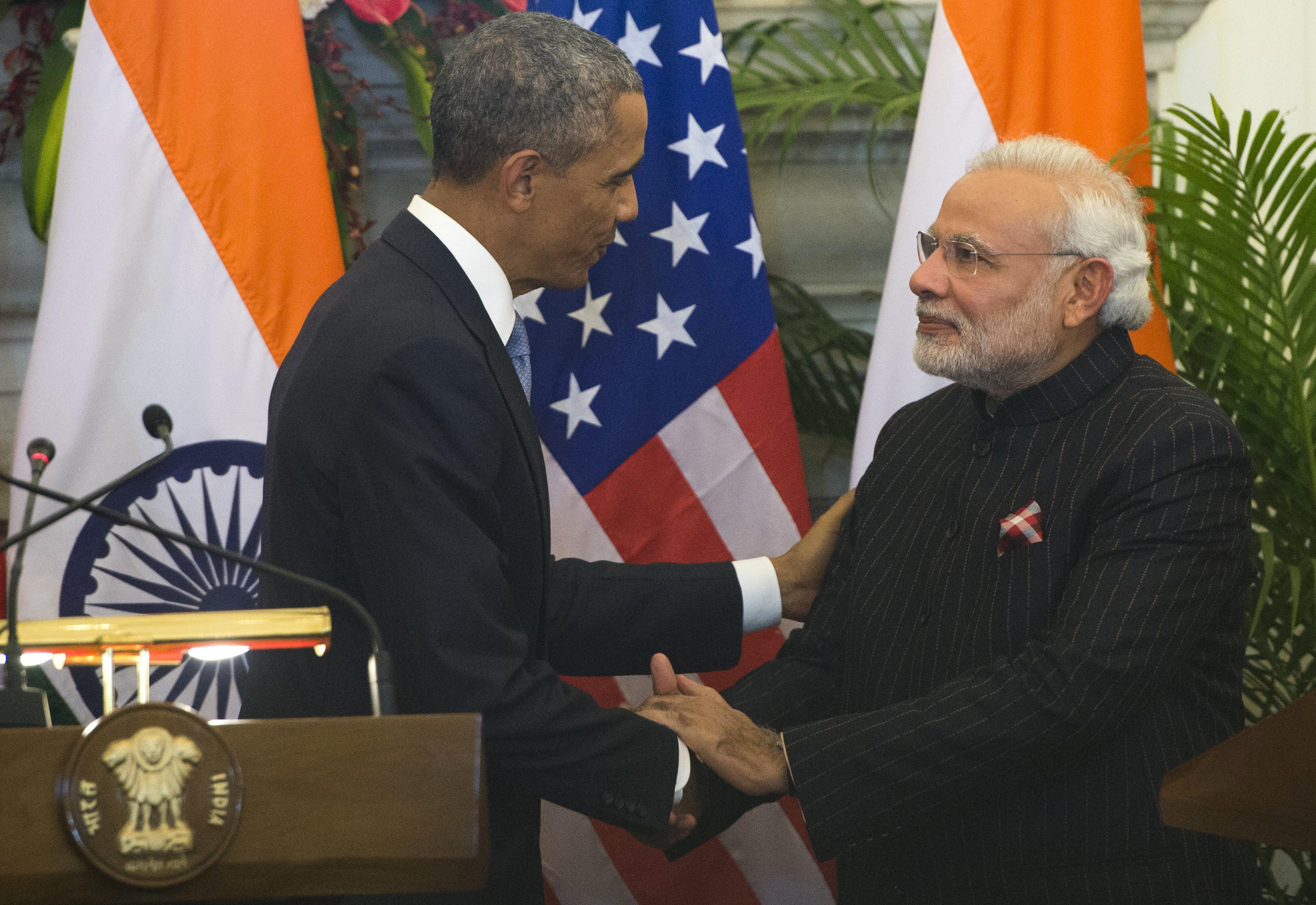 Obama, Modi break nuclear impasse, hail new 'friendship'