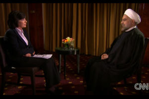 CNN Denies Iranian Press Claims That Amanpour-Rouhani Interview Was Mistranslated