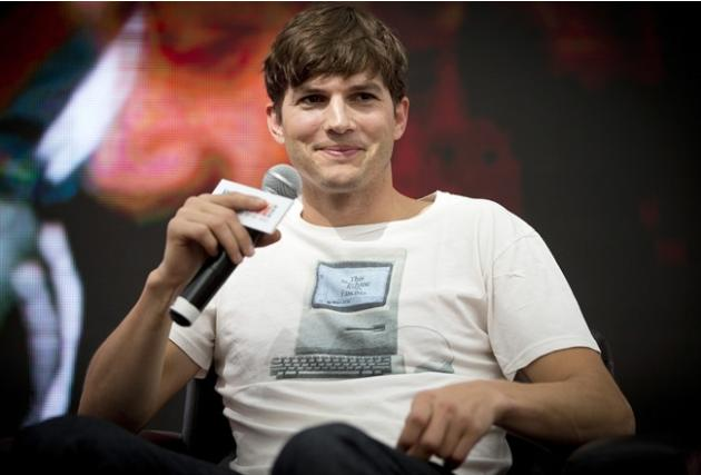 Computer-maker Lenovo hires actor Ashton Kutcher to design and pitch new tablet