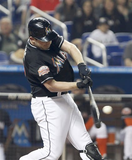 Dobbs drives in winner as Marlins beat Mets 6-5