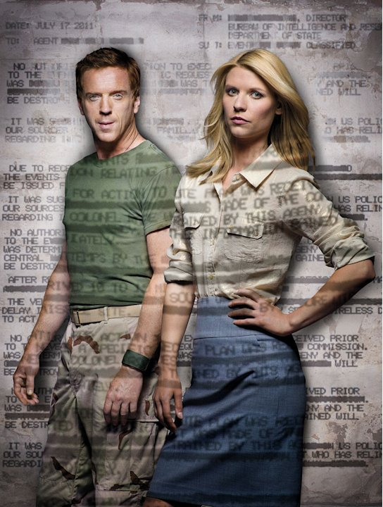 Damien Lewis as Nicholas &quot;Nick&quot; Brody and Claire Danes as Carrie Mathison in &quot;Homeland.&quot; 