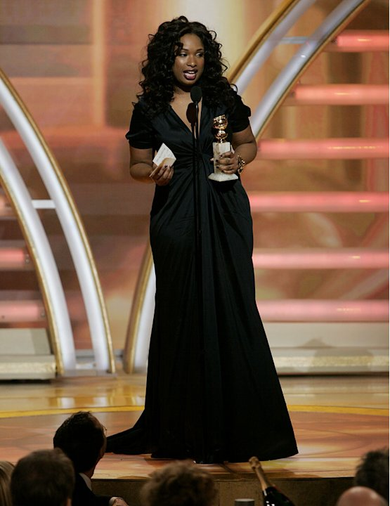 Jennifer Hudson kicks off the show with a much-anticipated win at the 64th annual Golden Globe Awards.