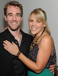 James van der Beek and actress Busy Philipps attend Dawson's Creek: A Look Back at The Paley Center for Media on November 4, 2009 in Beverly Hills, Calif -- Getty Images