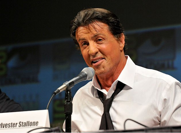 Comic Con 2010 Panels Sylvester Stallone