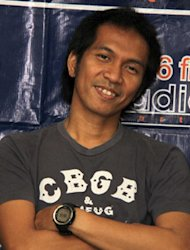 Ridho Slank Rambah Dunia Promotor