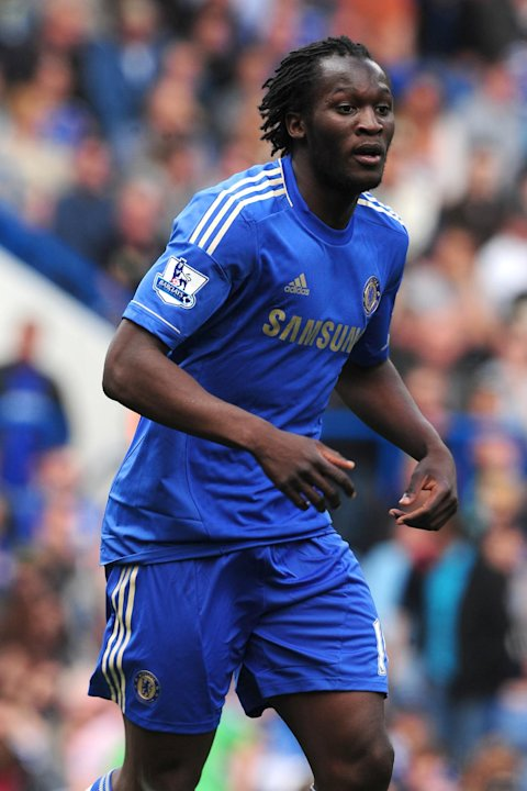 Romelu Lukaku struggled to break into Chelsea's first team after a 18million move