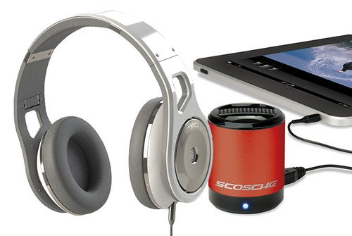 WIN: A Scosche bundle worth �500 by inventing your perfect gadget. Competitions, Scosche 0